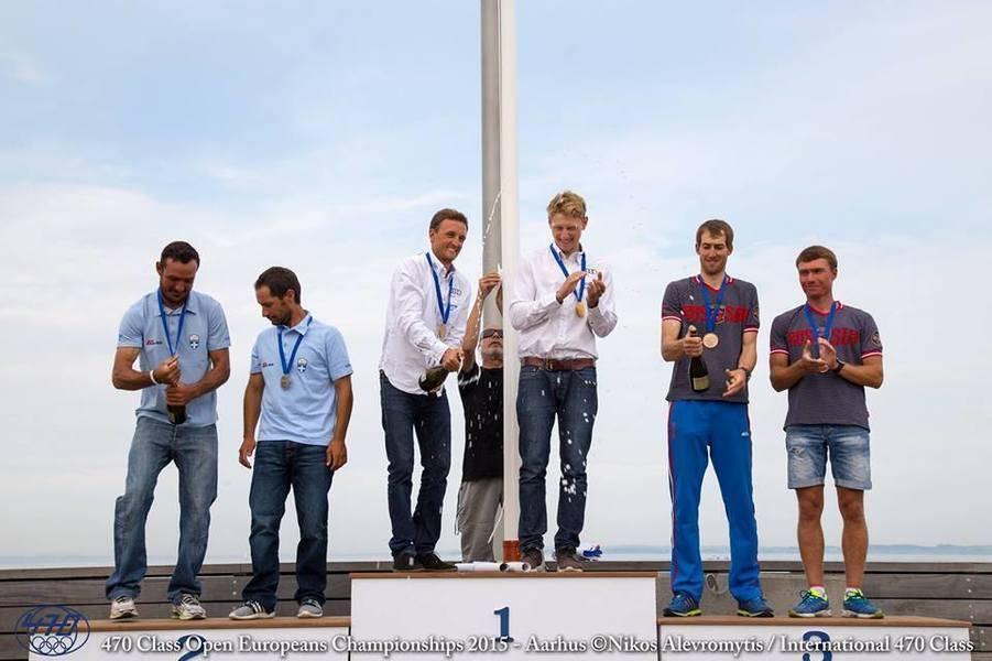 Павел созыкин и денис грибанов - бронзовые призеры чемпионата европы в классе 470